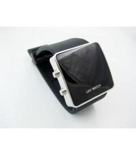 LED часовник adidas - черен хром