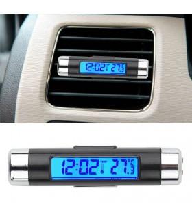 Часовник и термометър за кола - K01