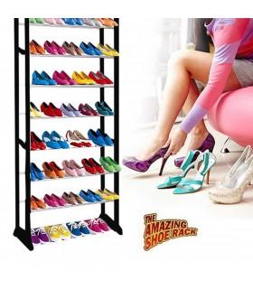 Подвижен стелаж за 30 чифта обувки