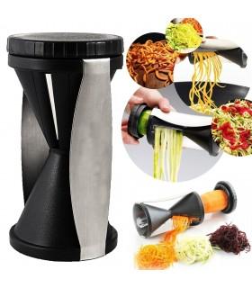 Уред за правене на спирали от зеленчуци и плодове