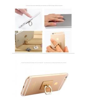 Самозалепваща подложка с пръстен за смартфон
