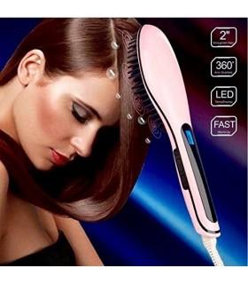 Йонизираща четка за изправяне и изсушаване на коса