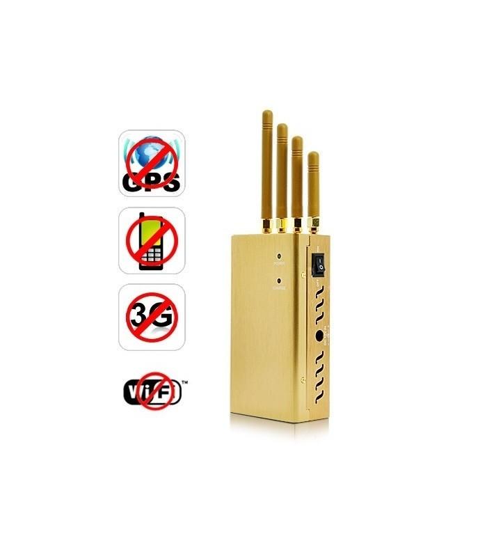 Заглушител на GSM сигнали, GPS, WiFi, 3G