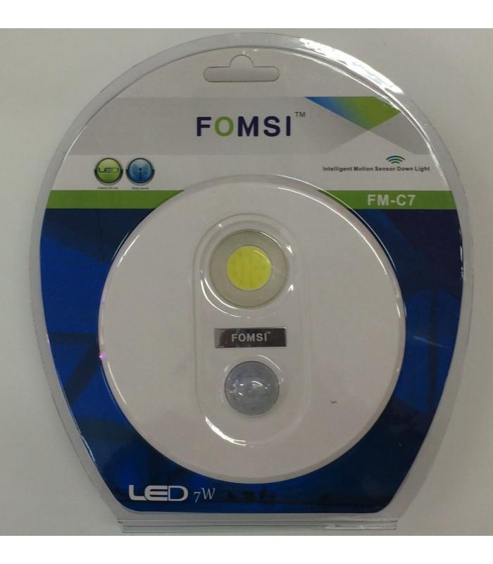 LED лампа за вграждане със сензор за движение
