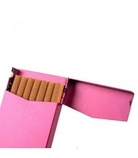 Алуминиева слим табакера за цигари