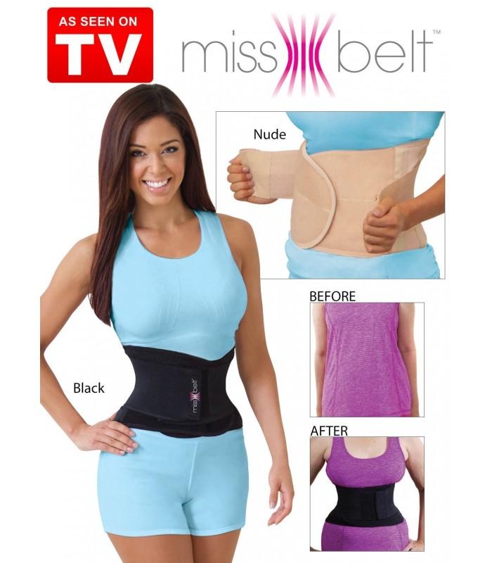 Стягащ и поддържащ колан за тънка талия Miss Belt