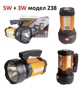 LED фенер (прожектор) T6 5W DAT AT-238
