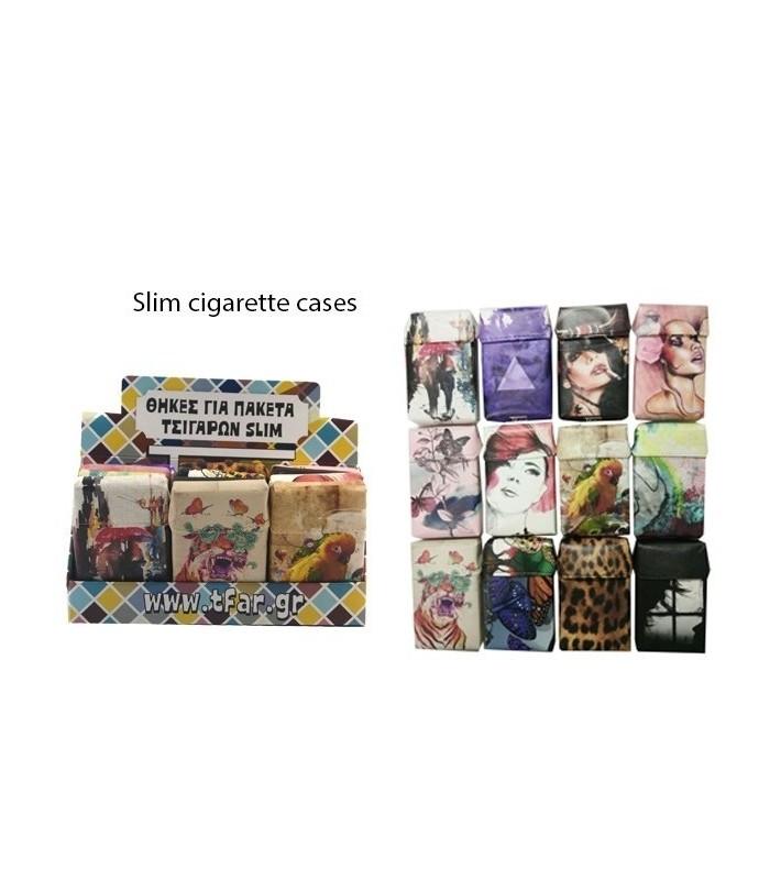 Калъф за слим кутии цигари 100мм.