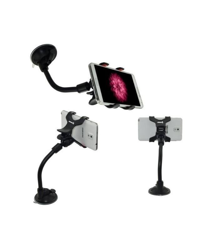 Универсална стойка за телефон с твърдо рамо S022
