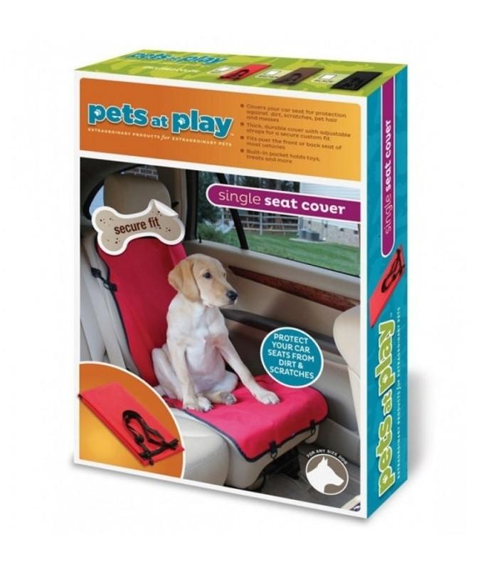 Кучешка постелка за автомобилна седалка Paws