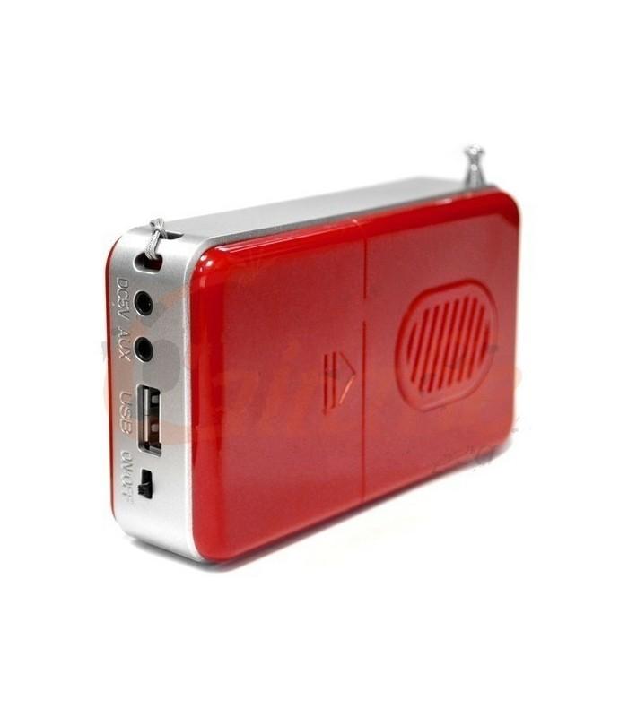 Преносима уредба с USB/MP3/РАДИО/КАРТА ПАМЕТ - WS-258