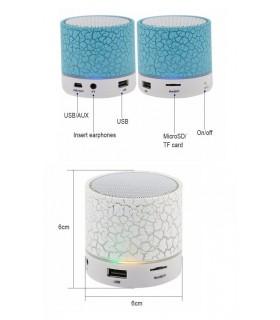 LED мини безжична Bluetooth колонка USB FM TF