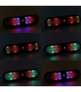 Безжичен Bluetooth Hi-Fi Speaker с USB/FM/TF/LED - модел BT808L