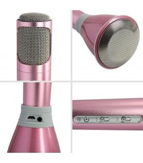Безжичен блутут караоке микрофон