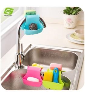 Двоен органайзер (чантичка) за кухненска мивка
