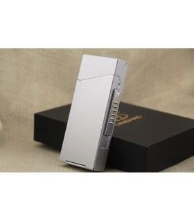 Табакера за 100мм. цигари с USB запалка