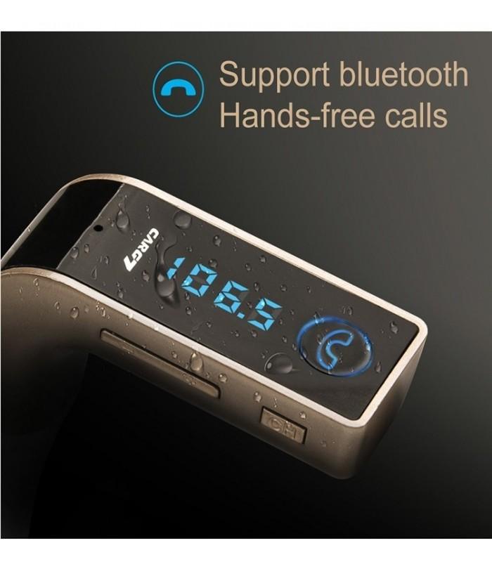 Bluetooth трансмитер за кола с хендсфри G7