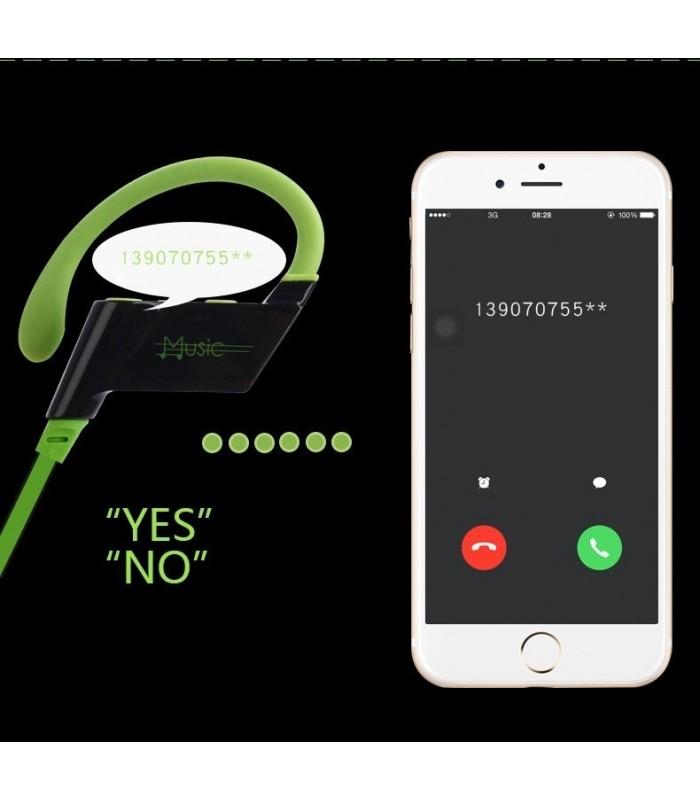 Спорт слушалки с Bluetooth 4.2