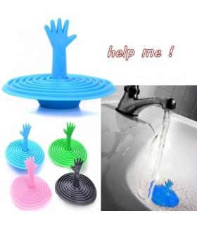 "Креативна тапа за мивка ""Ръчичка"""