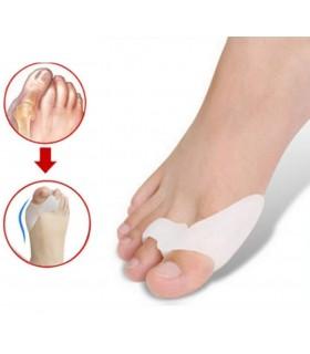Силиконов разделител за първи и втори пръст на крака