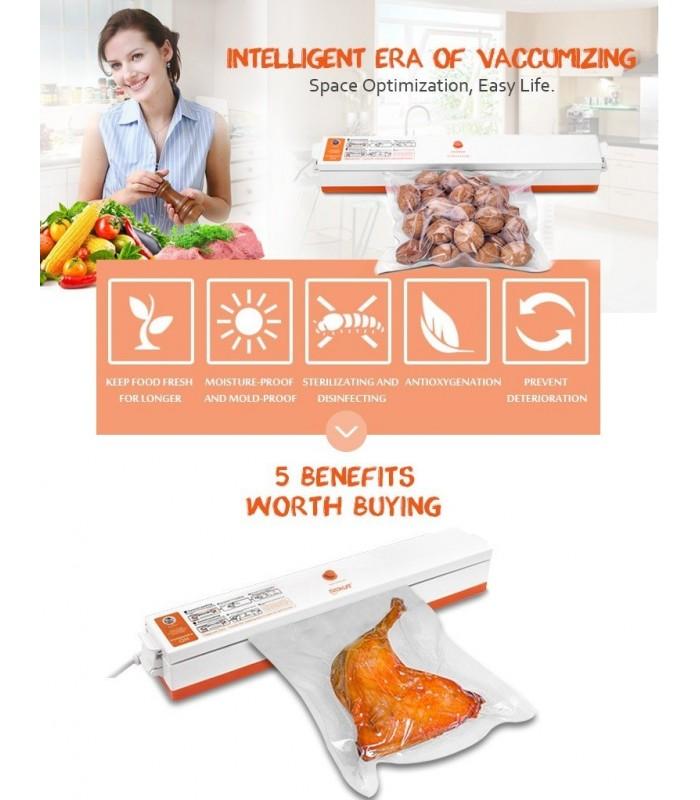Уред за вакуумиране на храна