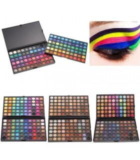 Палитра сенки за очи 120 цвята