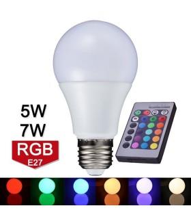 RGB крушка с дистанционно