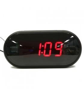 Настолен дигитален часовник с FM радио аларма