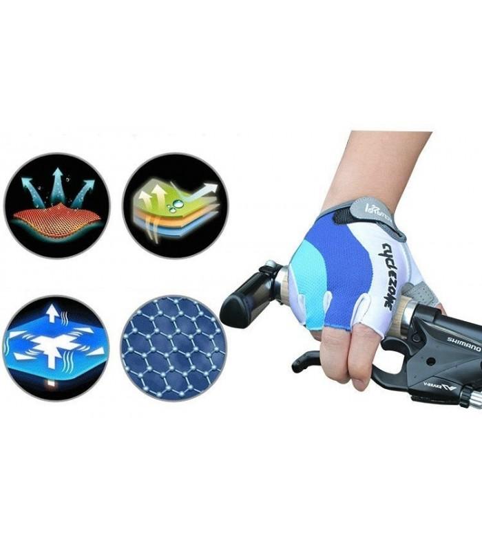 Ръкавици за колоездене или фитнес без пръсти