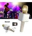 Безжичен Bluetooth караоке микрофон с вграден говорител
