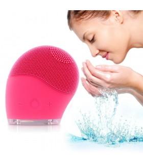 Силиконова вибрираща ръкавица за почистване на лицето