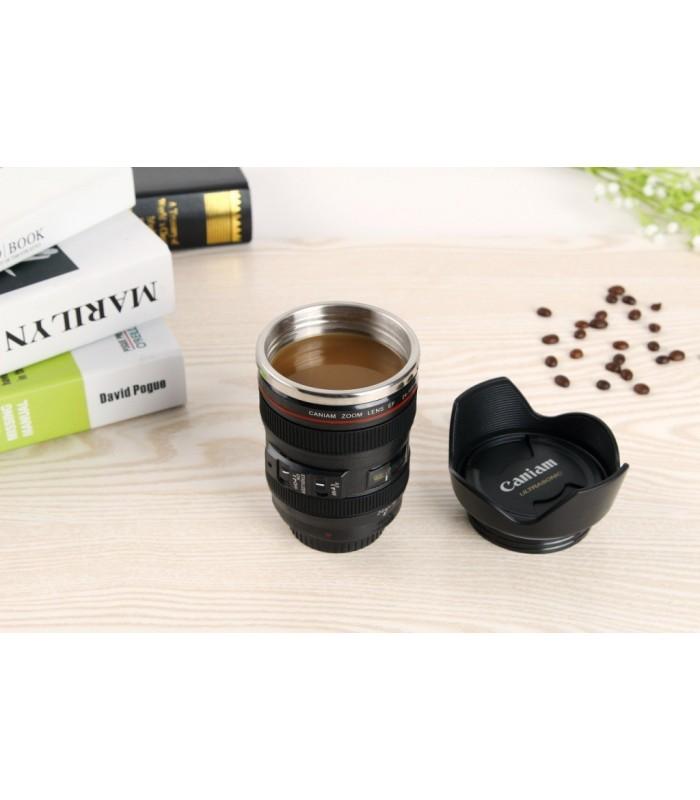 Термо чаша - обектив за фотоапарат