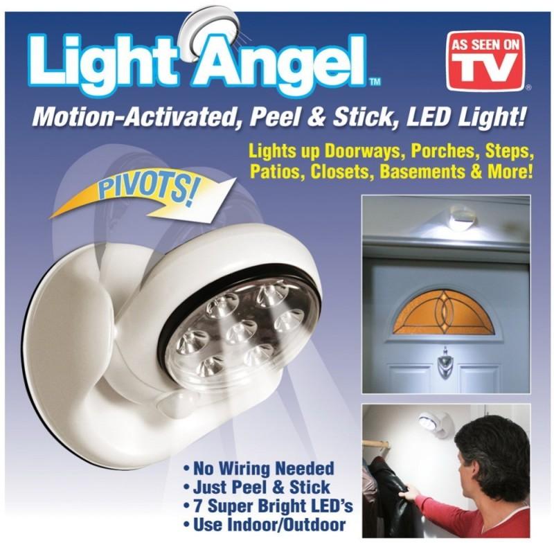 Сензорна LED лампа с датчик за движение Light Angel