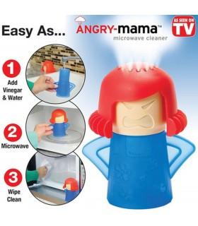 Уред за почистване на микровълнова фурна Angry Mama