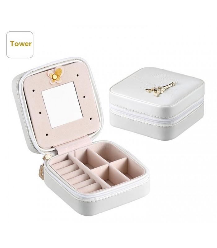 Малка кутия за бижута - квадратна