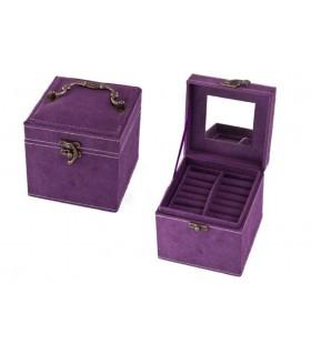 Кутия за бижута с 3 нива - модел 1754