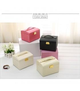 Кутия за бижута тип куфар - код 1756
