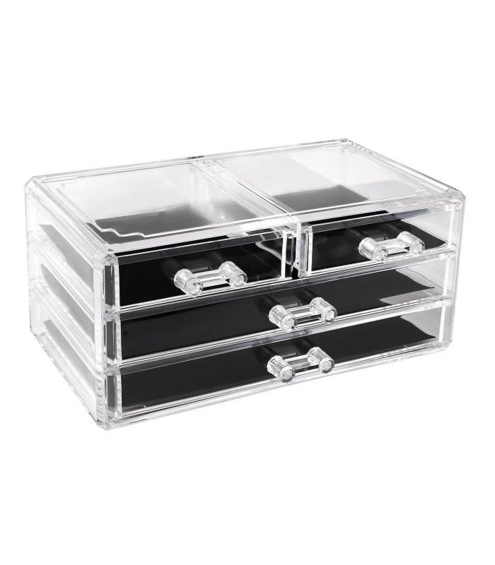 Органайзер за козметика с чекмеджета