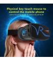 3D очила за телефон за виртуална реалност с бутони за управление