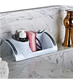 Поставка за гъби с дозатор за течен сапун