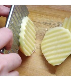 Вълнообразен нож с дръжка