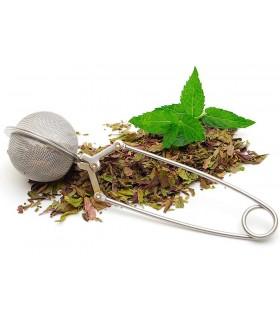 Метална цедка за чай насипен чай - инузер щипка