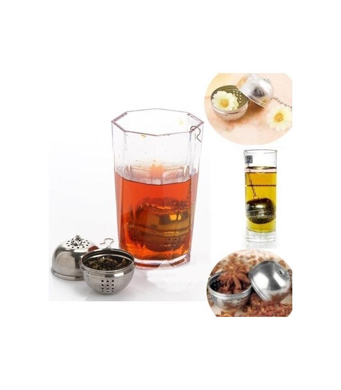 Метален филтър за насипен чай - топче