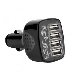 Зарядно за запалка за кола с 4 USB изхода