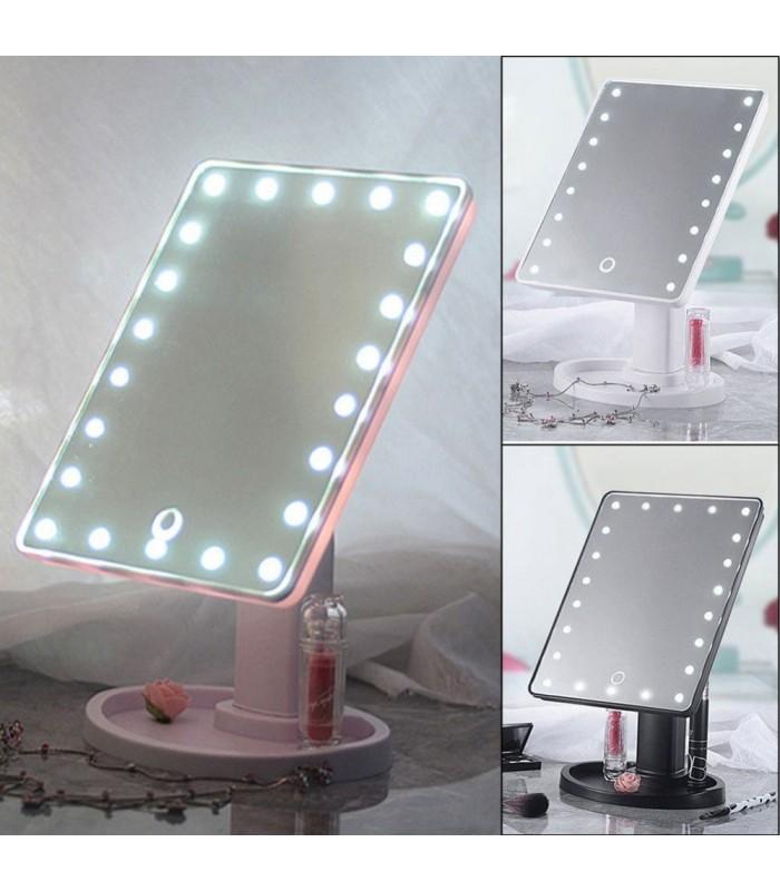 Голямо LED огледало със 16 диода