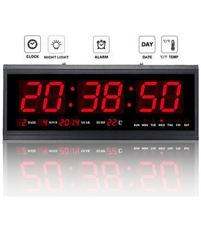 Голям стенен електронен часовник - модел 4819