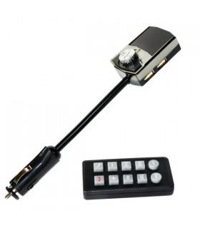 FM блутут трансмитер за кола с високоговорител и чупещо се рамо