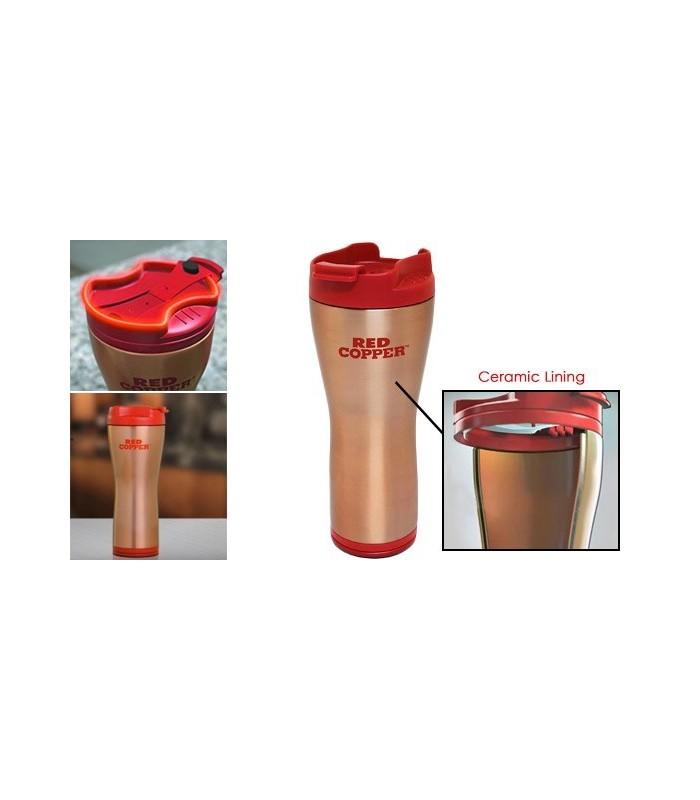 Необръщаща се термо чашка Red Copper
