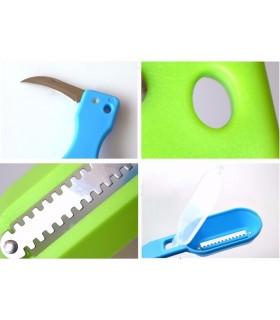 Нож за чистене на рибени люспи