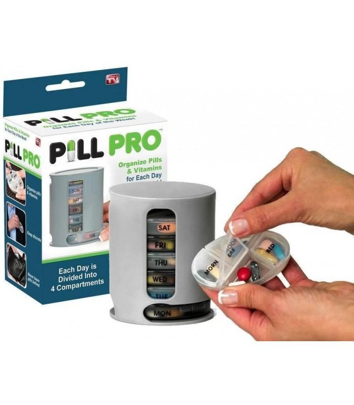 Органайзер за лекарства и витамини Pill Pro